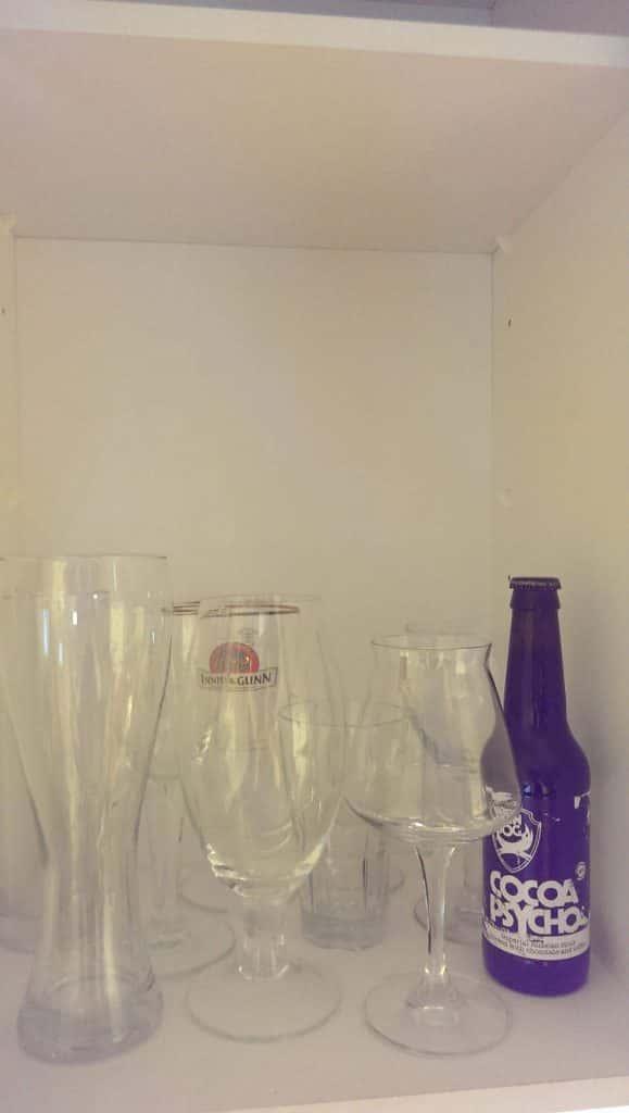 Kalleimman oluen jätin kypsymään lasieni sekaan.